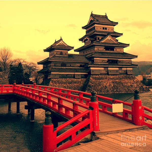 Wall Art - Photograph - Matsumoto Castle, Japan by Neale Cousland
