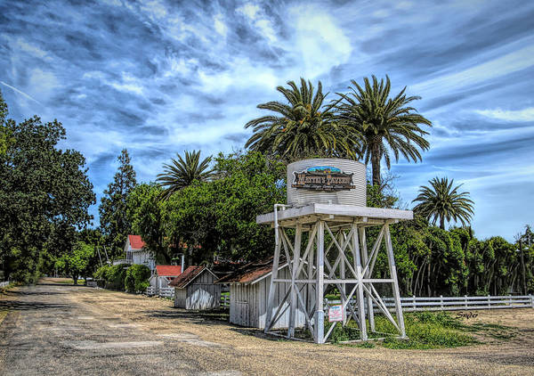 Photograph - Matteis Tavern Los Olivos Stage Coach Stop by Floyd Snyder