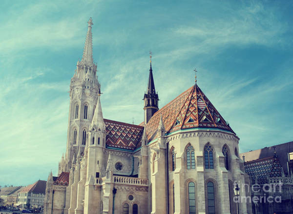 Photograph - Matthias Church, Budapest by Jelena Jovanovic