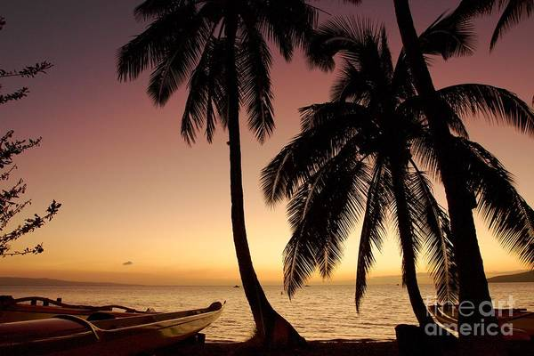 Andrew Jackson Wall Art - Photograph - Maui Beach After The Sunset by Andrew Jackson