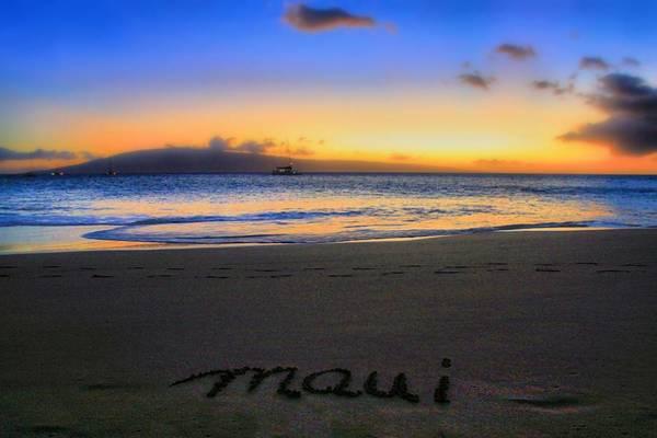 Hawaiiana Photograph - Maui by DJ Florek