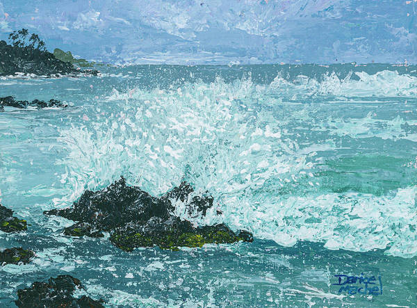 Painting - Maui Waves by Darice Machel McGuire