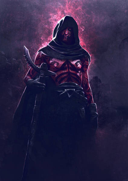 Sith Digital Art - Maul by Guillem H Pongiluppi