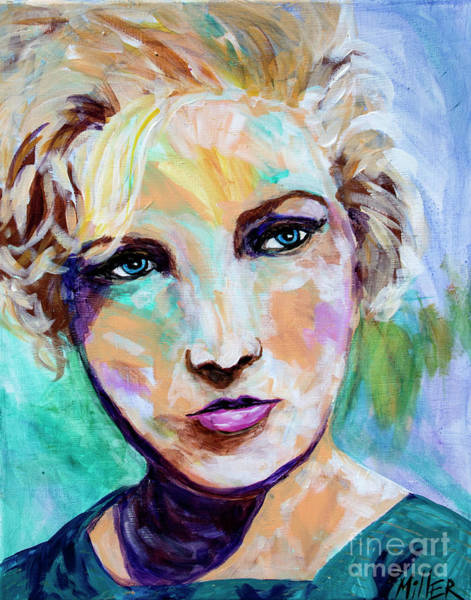 Wall Art - Painting - Maureen by Tracy Miller