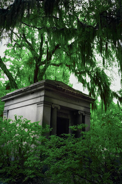 Wall Art - Photograph - Mausoleum In Georgia IIi by Jon Glaser