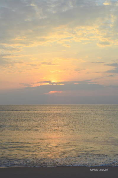 Photograph - May 21st Nags Head Sunrise by Barbara Ann Bell