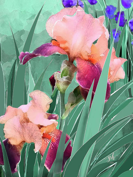 Digital Art - May Garden by Gina Harrison