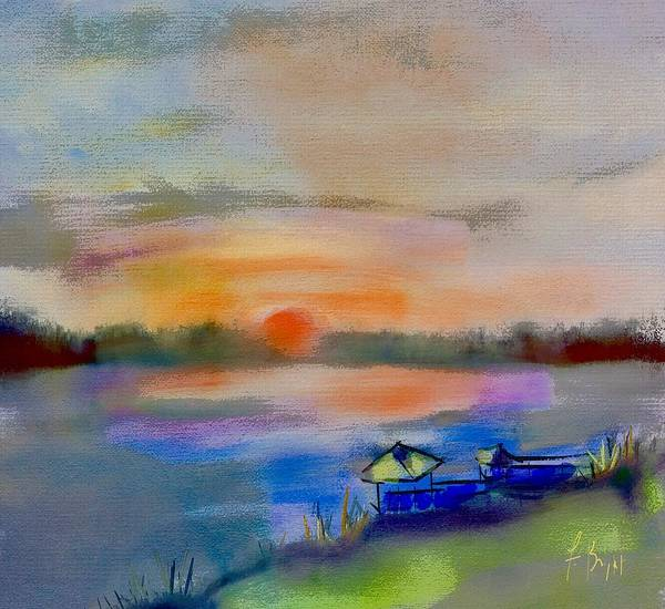 Sawgrass Digital Art - May River Sunset by Frank Bright