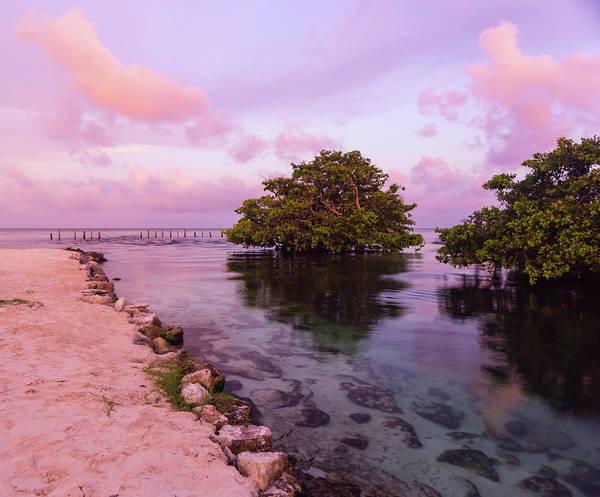 Mayan Sea Reflection Art Print