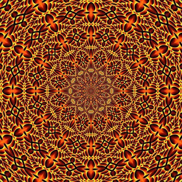 Digital Art - Mayan Sun God K12-k12-1 by Doug Morgan