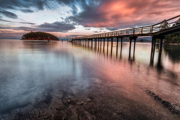 Photograph - Mayne Island by Jacqui Boonstra