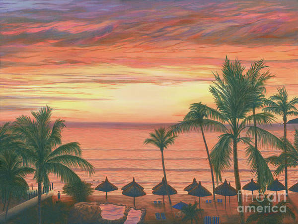Wall Art - Painting - Mazatlan Sunset by Aicy Karbstein