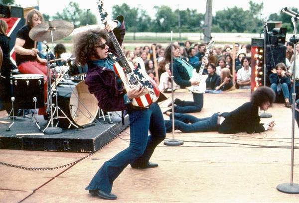 Wall Art - Photograph - Mc 5 Live In Mount Clemens by Leni Sinclair