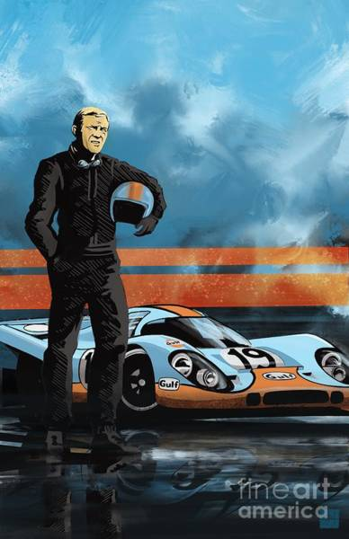 Painting - Mc Queen 917 by Sassan Filsoof