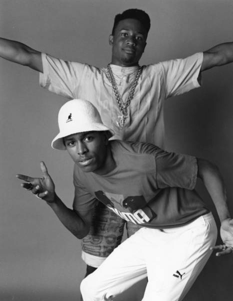 Puma Photograph - Mc Shan Portrait Session by Michael Ochs Archives