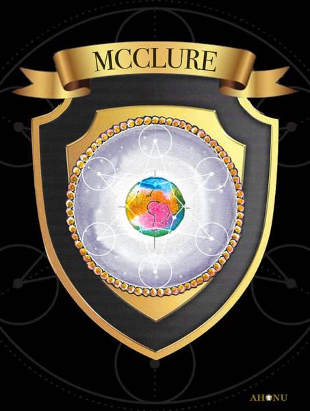 Mcclure Family Crest Art Print