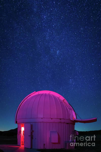 Photograph - Mcdonald Observatory by Inge Johnsson