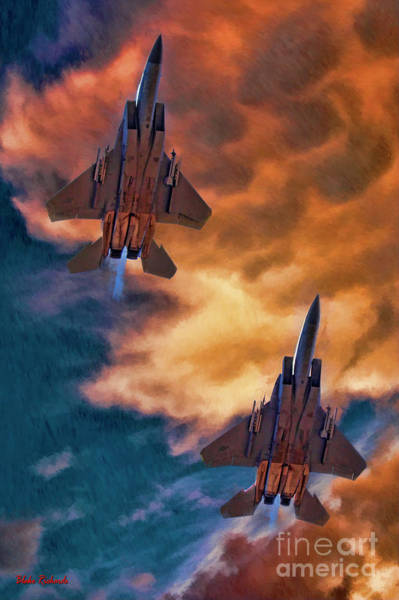 Photograph - Mcdonnell Douglas F-15 Eagle by Blake Richards