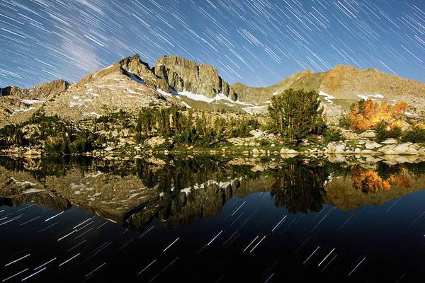 Kings Canyon Photograph - Mcgee Star Trails by Mason Cummings
