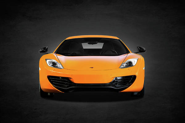 Super Cars Photograph - Mclaren Mp4 12c by Mark Rogan
