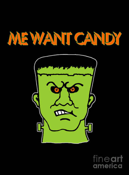 Want Digital Art - Me Want Candy by Methune Hively