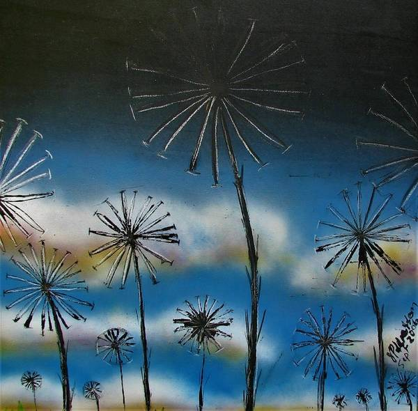Painting - Meadow At Dawn by Joan Stratton