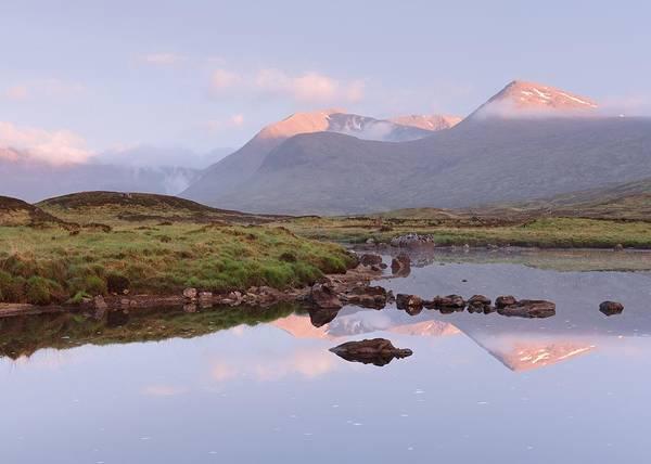 Photograph - Meall A'bhuiridh Sunrise by Stephen Taylor