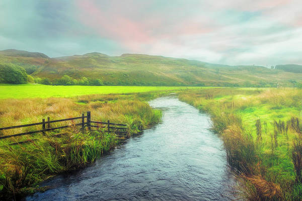 Photograph - Meandering Through Scotland On A Misty Morning by Debra and Dave Vanderlaan