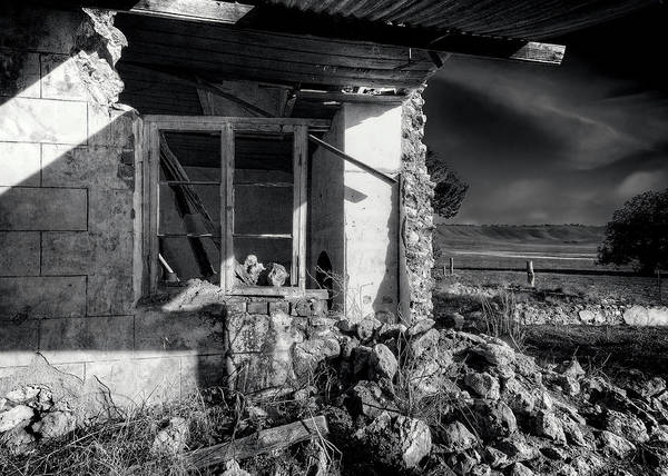 Wall Art - Photograph - Meanwhile, Back At The Ranch ..... by Wayne Sherriff