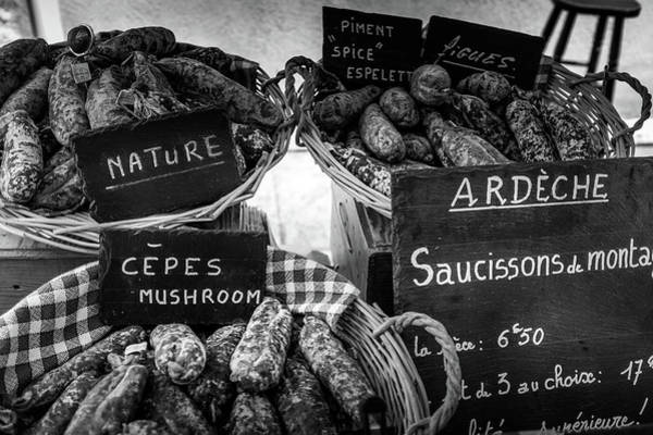 Photograph - Meats At The French Market by Georgia Fowler