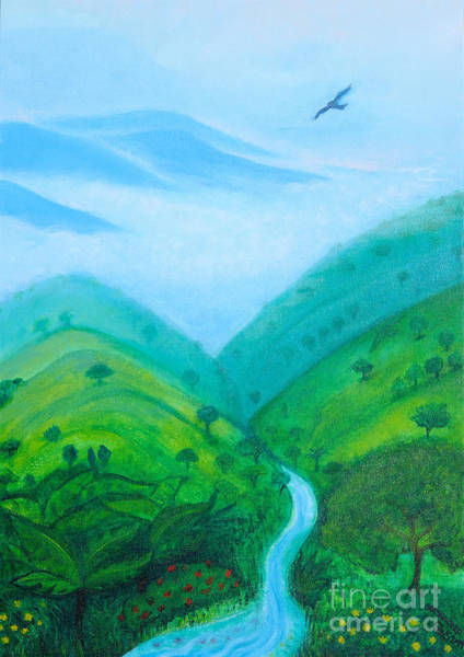 Art Print featuring the painting Medellin Natural by Gabrielle Wilson-Sealy