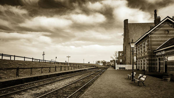 Photograph - Medemblick Station by Framing Places