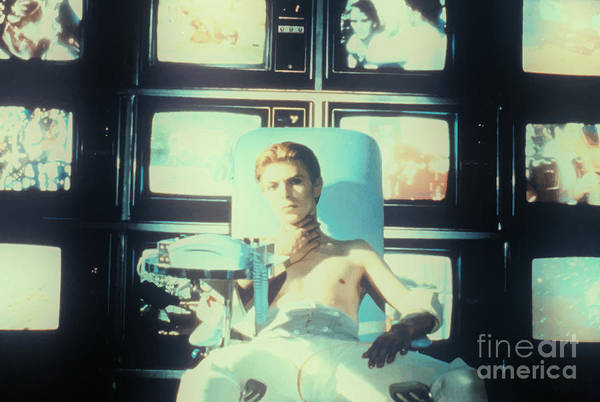 Mixed Media - Media Overload - The Man Who Fell To Earth 1976 by Kultur Arts Studios