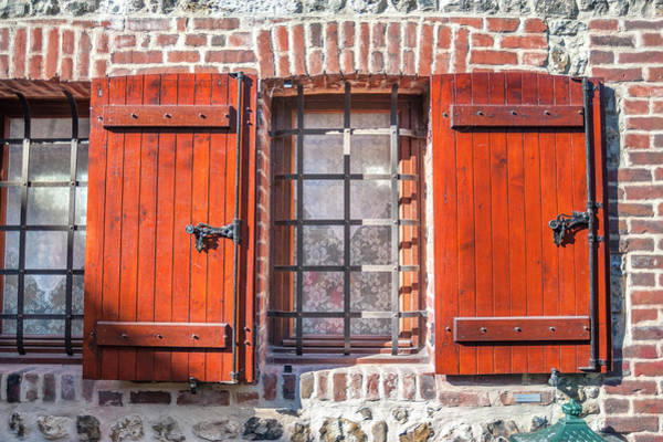 Wall Art - Photograph - Medieval Architecture, Honfleur by Jim Engelbrecht