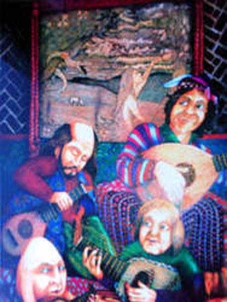Baroque Mixed Media - Medieval Fantasy by John Baroque