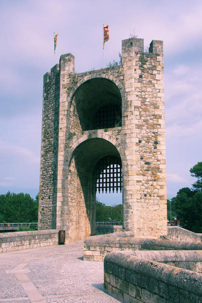 Photograph - Gate Tower Besalu Spain by Yulia Kazansky