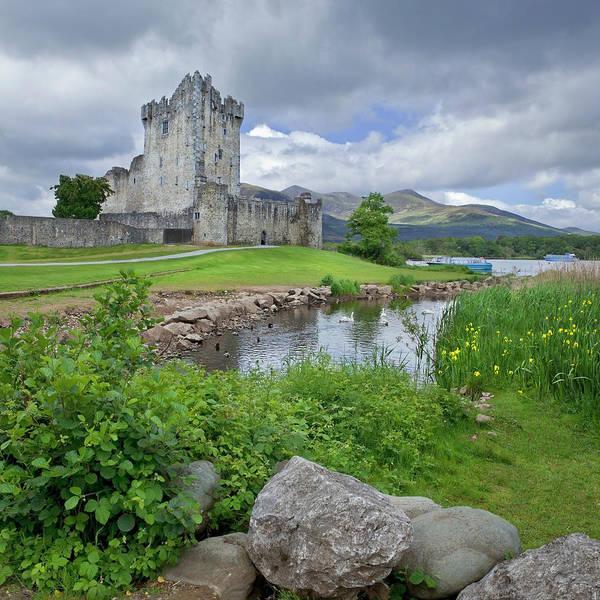 Killarney Photograph - Medieval Irish Castle by Missing35mm