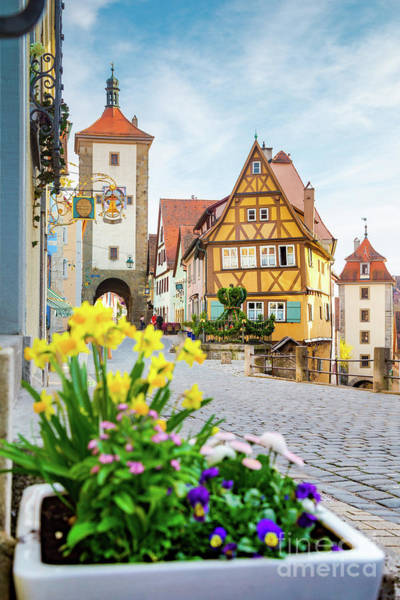 Wall Art - Photograph - Medieval Rothenburg Ob Der Tauber by JR Photography