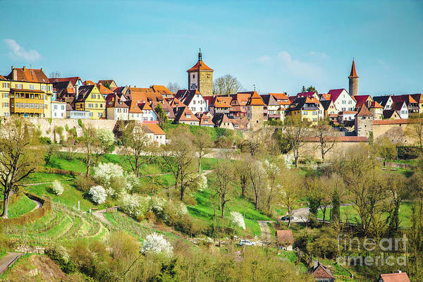 Wall Art - Photograph - Medieval Town Of Rothenburg Ob Der Tauber by JR Photography