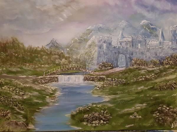 Painting - Medieval Wispers by Bernd Hau