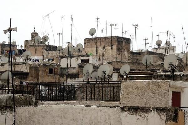 Baluster Wall Art - Photograph - Medina Of Fez Cityscape by Robertogennaro