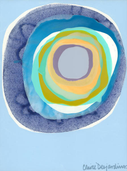 Wall Art - Painting - Meditate by Claire Desjardins