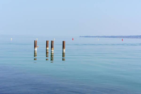 Lake Geneva Photograph - Meditation On Lake by Photo By Dasar