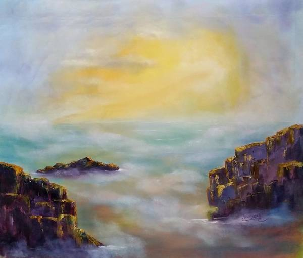Wall Art - Painting - Meditation One by Connie Townsend
