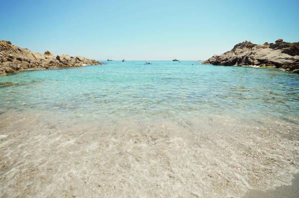 Riviera Photograph - Mediterranean Beach by Dhmig Photography