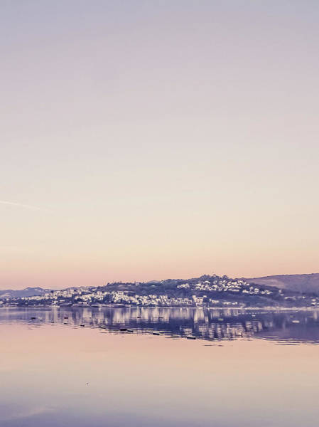 Photograph - Mediterranean Sunrise I by Anne Leven