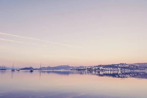 Photograph - Mediterranean Sunrise II by Anne Leven