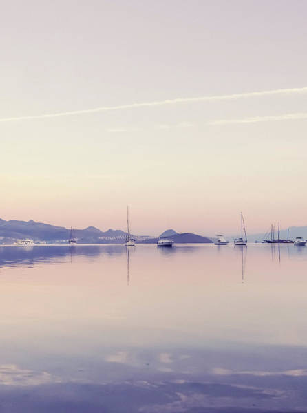 Photograph - Mediterranean Sunrise IIi by Anne Leven