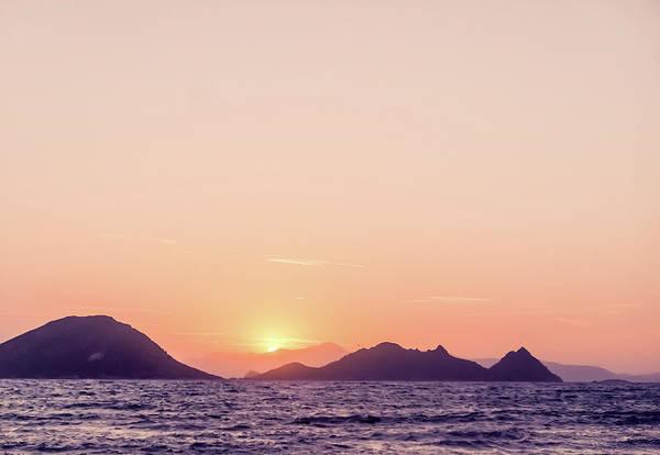Photograph - Mediterranean Sunset II by Anne Leven