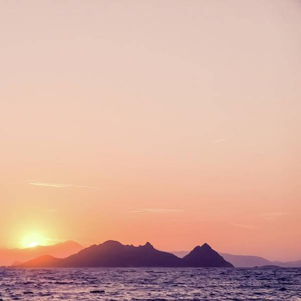 Photograph - Mediterranean Sunset IIi by Anne Leven